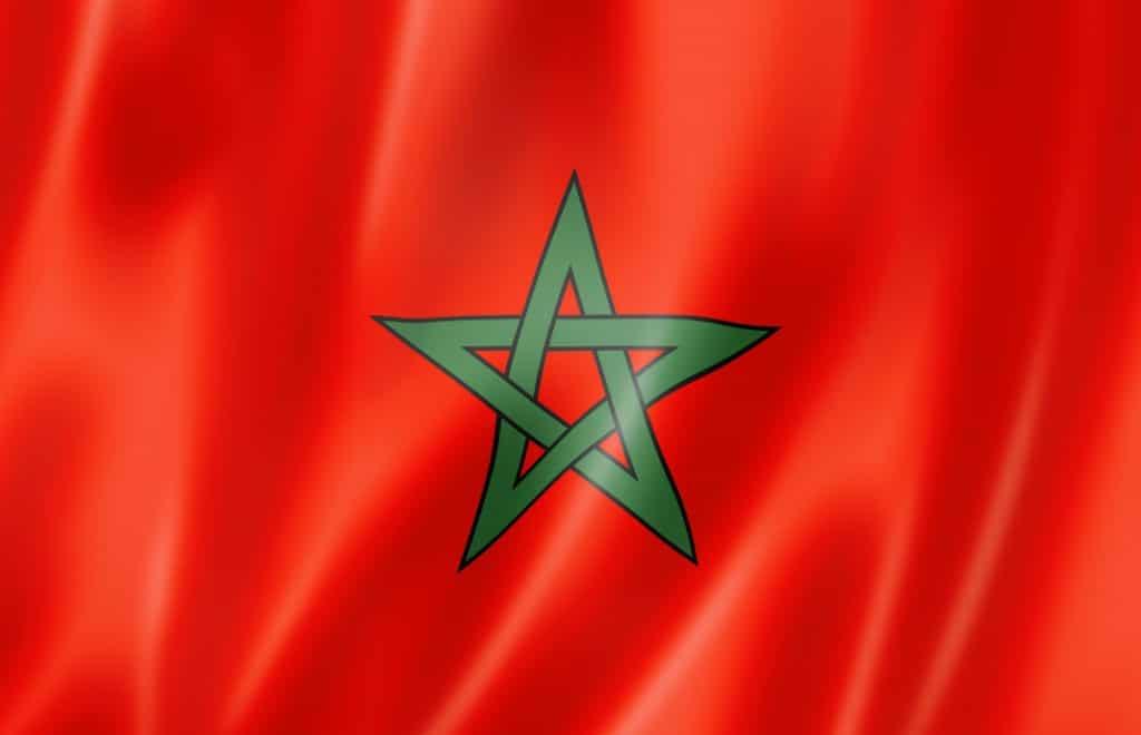 Marokko flagg