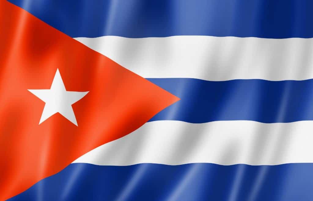 Cuba flagg