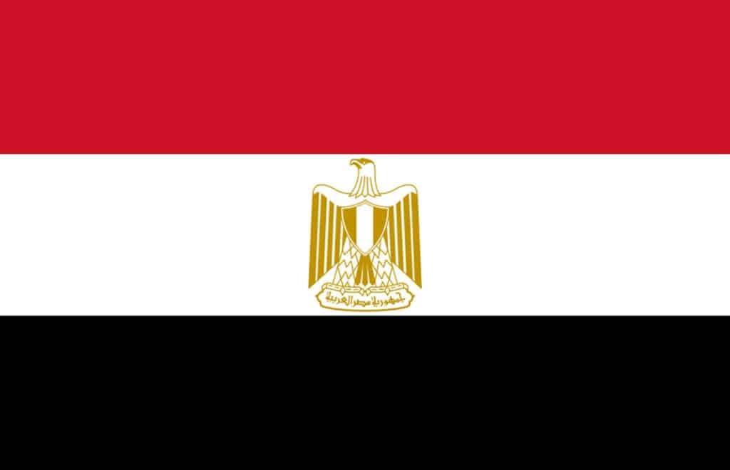 Egypt flagg