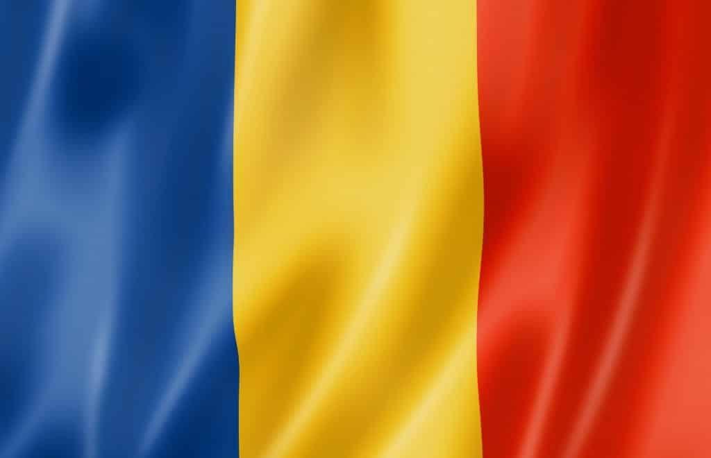 Romania flagg