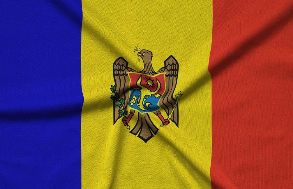 Moldova flagg