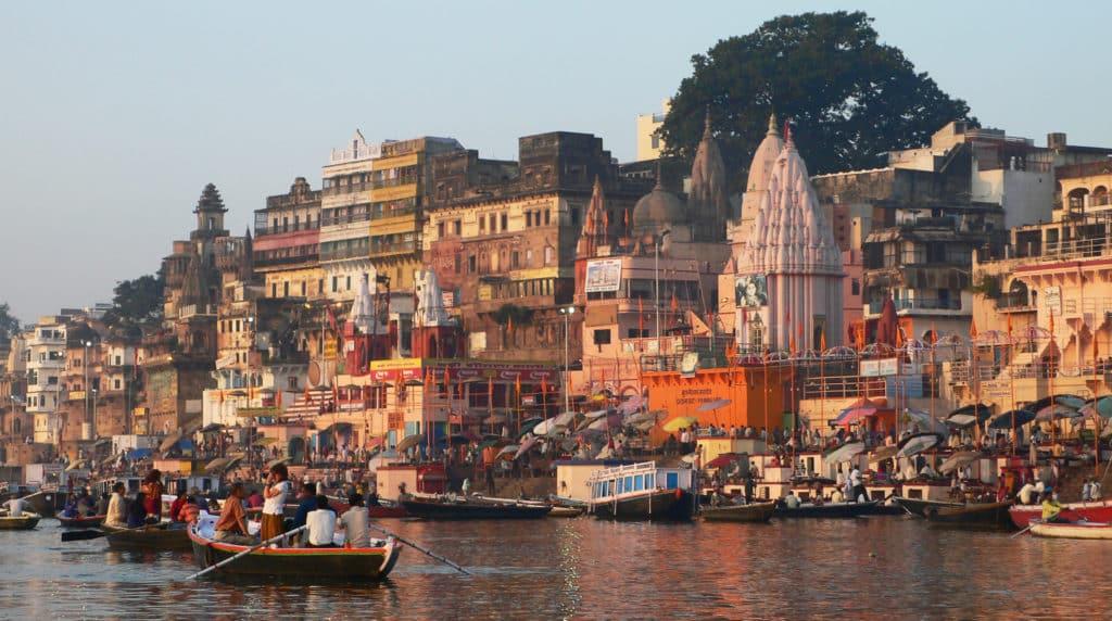 Varanasi båttur