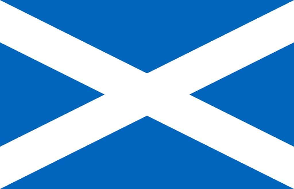 Skottland Flagg