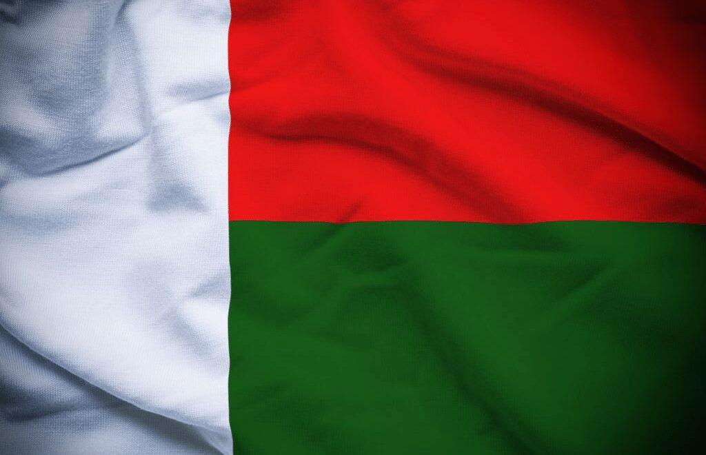 Madagaskar flagg