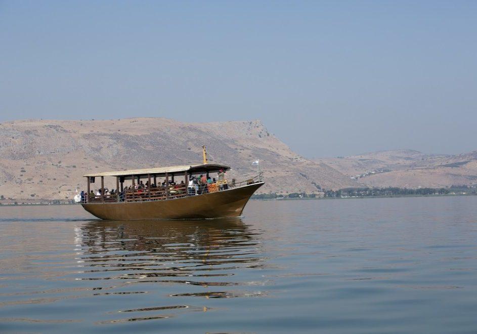 PILGRIM'S BOAT ON THE SEA OF GALILEE