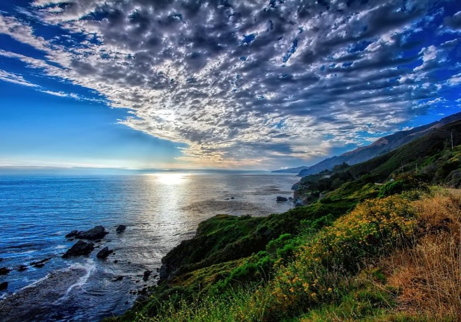 Clouds on The Pacific Coast