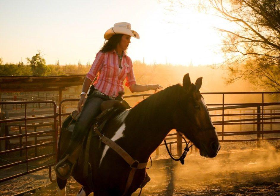 Reiser til USA, Ranch i USA